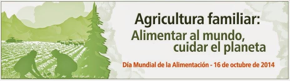 Logo Dia Mundial de la Alimentación 2014