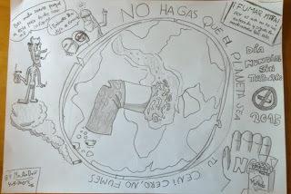 dibujo 2 Día Mundial Sin Tabaco