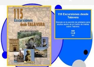 """Recomendación: """"115 excursiones desde Talavera"""" Fuente: Biblioteca José Hierro"""