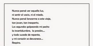 """Poema """"Corazón"""" de Lucas Fernández."""