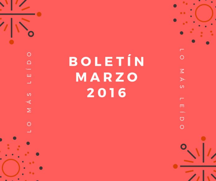Boletín Marzo 2016