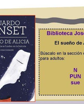 """Portada del libro"""" El sueño de Alicia"""". Eduardo Punset"""