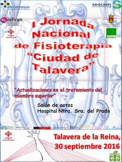 Cartel I Jornada Nacional de Fisioterapia