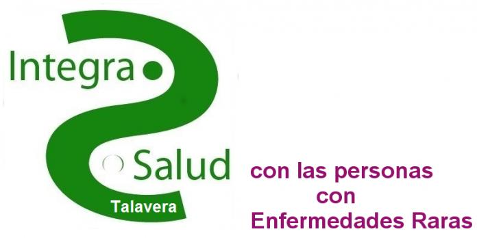 Logo Integra Salud Talavera con las personas con Enfermedades Raras.