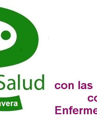 Logo Integra Salud Talavera con las personas con Enfermedades Raras