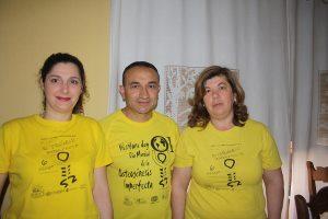 Susana Arjona, Gerardo Muñoz Fernández y Lourdes Cano.