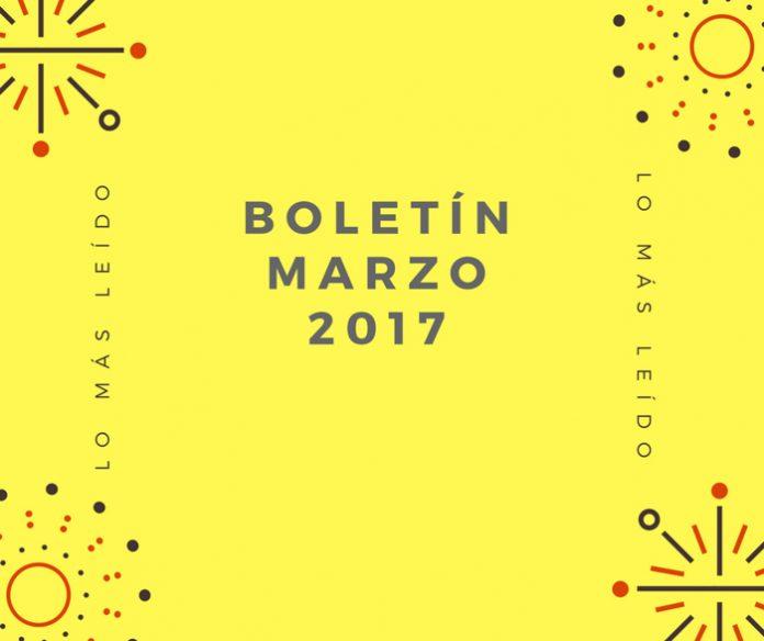 Boletín Marzo 2017