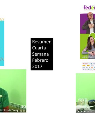 Resumen Cuarta Semana Febrero 2017.
