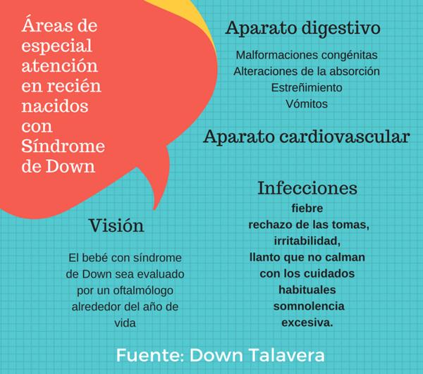 El down sindrome prueba del talon la detecta de