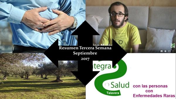 Resumen Tercera Semana Septiembre 2017
