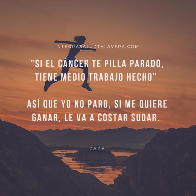 frase de Zapa, afición por escribir