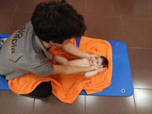 masaje infantil cara