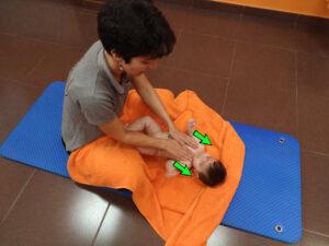 masaje infantil pecho