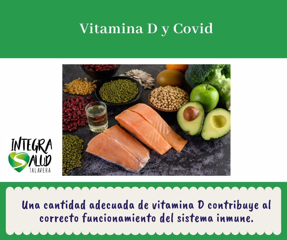 Vitamina D y Covid